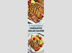 salmon marinade brown sugar soy sauce