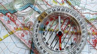 Image result for map and compass