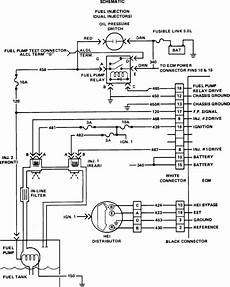 82 corvette ecm wiring diagram my 82 corvette does not get fuel to the injectors if i prime the injectors it ll run til fuel