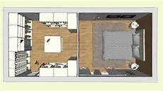 Begehbarer Cabinet Kleiderschrank Im Schlafzimmer Geplant