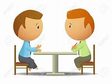 Two Person Talking Clipart