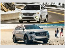 2018 Kia Sorento vs. 2018 Hyundai Santa Fe: Head to Head