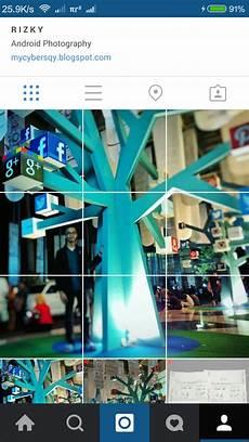 Membuat Efek Slice Grid Photo Pada Instagram Tutorial
