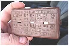 1994 Suzuki Fuse Panel Diagram Detailed Schematic