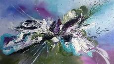 Einfach Malen Abstrakte Acrylmalerei Easy Painting