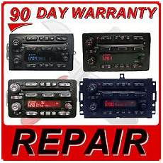 vehicle repair manual 2005 chevrolet blazer navigation system 2004 05 06 chevy tahoe suburban blazer silverado radio 6 disc cd changer repair
