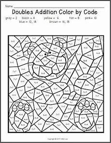 2nd grade math worksheet color by number are you invited colouring pages math doubles 1st