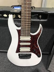 Ibanez Tosin Abasi 8 String Electric Guitar White