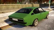 Opel Kadett C Coupe For Gta 4