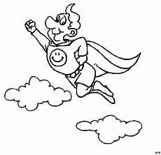 niedlicher superheld ausmalbild malvorlage comics