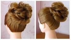 Bun Chignon Cheveux Mi Facile Et Rapide