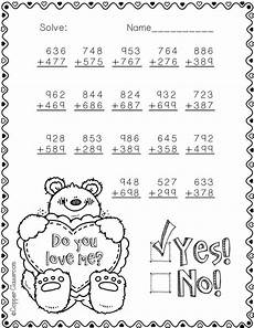 s day worksheets grade 2 20361 3 nbt 2 s day themed 3 digit addition with regrouping math resources math math lessons