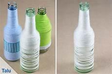 basteln mit flaschen basteln mit wolle 5 tolle ideen mit anleitung talu de