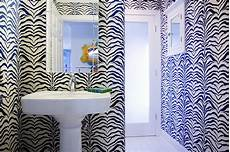 zebra print bathroom ideas zebra wallpaper contemporary bathroom mona ross