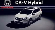 2019 honda cr v hybrid prototype electrified