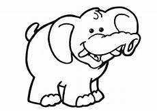 Malvorlage Kleiner Elefant Elefanten Ausmalbilder 13 Ausmalbilder