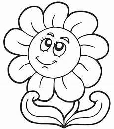 immagini di fiori da colorare e stare disegno di fiore semplice
