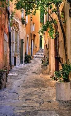 small street at saint tropez provence alpes c 244 te d azur