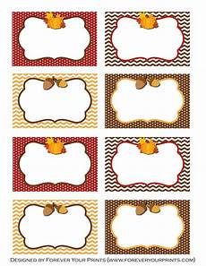 thanksgiving food label cards template free thanksgiving printables from forever your prints