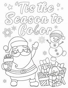 Malvorlagen Weihnachten Free Coloring Pages For Adults And