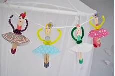 Basteln Mit Eisstielen Eine Ballerina Girlande F 252 Rs