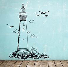 Wandtattoo Wandaufkleber Leuchtturm Maritim M1465
