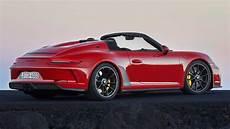 2019 Porsche 911 Speedster Priced From 269 274 In Germany