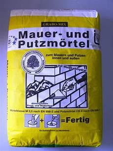 Mauer Und Putzmörtel - mauer und putzm 246 rtel 40 kg sack ebay