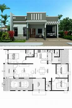 parapet house plans one story dream house plan with parapet design roof in