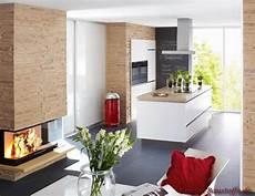 Wohnzimmer Mit Offener Küche Modern - k 252 che design kamin