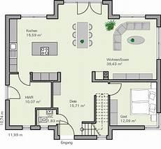 Grundriss Mit Treppe In Der Mitte - kundenhaus familie arnold zaunm 252 ller massivhaus gmbh