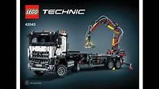 lego 42043 mercedes articuled construction truck