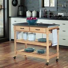 Kitchen Cart Maple by Home Styles Liberty White Kitchen Cart 4512 95 The Home
