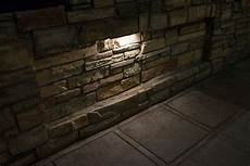 led hardscape lighting deck step and retaining wall lights w mounting plates 3000k 2700k
