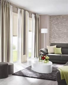 vorhang wohnzimmer gardinen sonnenschutz plissee livingreet modern von