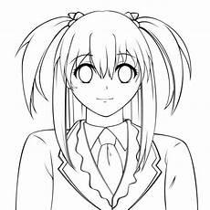 Gambar Anime Keren Yang Mudah Digambar Kumpulan Gambar Bagus