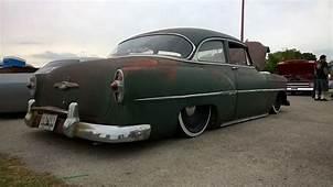 1953 Chevrolet With 20 Steelies Detroit Steel Wheels