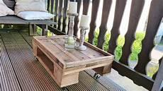 Tisch Selber Bauen Aus Paletten