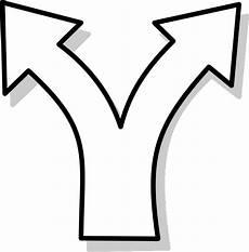 clipart frecce immagine vettoriale gratis divergenti frecce sinistra