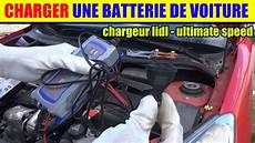 charger une batterie voiture chargeur lidl ultimate speed