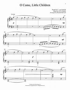 o come little children sheet music direct