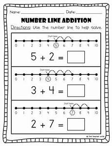 addition worksheets using number line 8951 number line addition subtraction number math and school