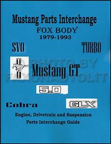 service manuals schematics 1991 ford f series security system 1979 1993 ford mustang parts interchange manual 1989 1990 1991 1992 1993 ebay