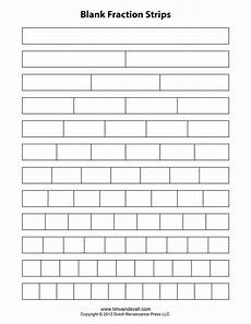 fraction bar worksheets 3856 blank fraction bars for students to fill in during testing fractions math fractions