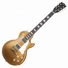 gold top guitar gibson les paul tribute t electric guitar satin gold top 2017 at gear4music