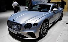 New 2018 Bentley Continental Gt Revealed At Frankfurt