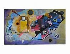 gelb rot blau kandinsky gelb rot blau poster kunstdruck bild 28x35cm kostenloser versand ebay