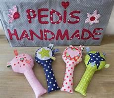 nähen für babys gastbeitrag babyrassel selber n 228 hen mit pedis handmade