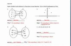 function non function quiz assessment worksheet by click tutoring services