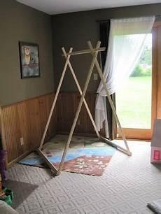tipi fait maison 112690 structure en bois 224 faire pour tente d enfants a faire un jour reading tent playroom et